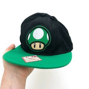 SUPER MARIO Men's Mushroom Original Snapback Hat